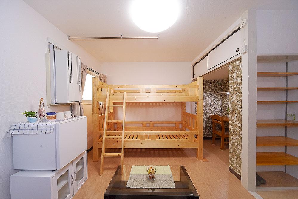 カシノキハウス 2F5号室(入居者1名)